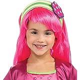 Rubies Costumes 211507 Tarta de Fresa - Tarta de frambuesa Peluca - Ni-o - Rosa - uno-tama-o