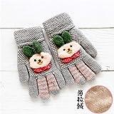 Gant gants mitaine Gants bébé automne et hiver chaud cinq doigts mignons section...
