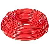 Cartec 103301 Câble Électrique Auto 2 mm x 10 m Rouge