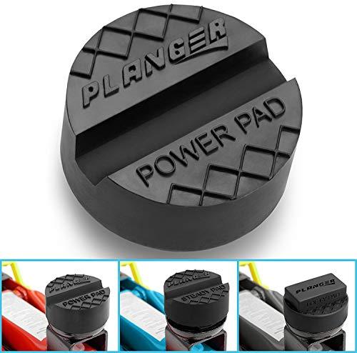 PLANGER® - ALLE GRÖSSEN - Wagenheber Gummiauflage für Rangierwagenheber-Universal Gummiauflage Wagenheber-Schützt Ihren PKW und SUV robustem Gummi