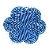 Kochblume SWISCH Silikonschwamm Reinigung und Fusselbürste hellblau