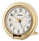 Seiko Unisex Reisewecker Kunststoff weiß QHT014G