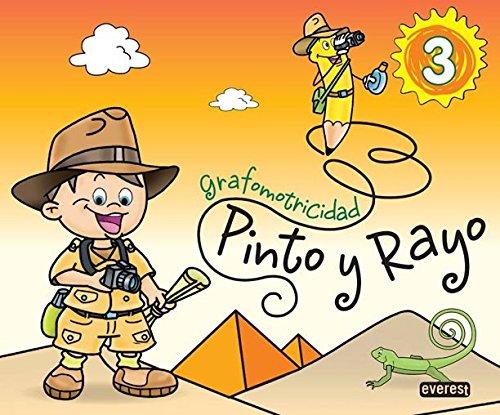 Pinto y Rayo 3. Grafomotricidad - 9788444173931