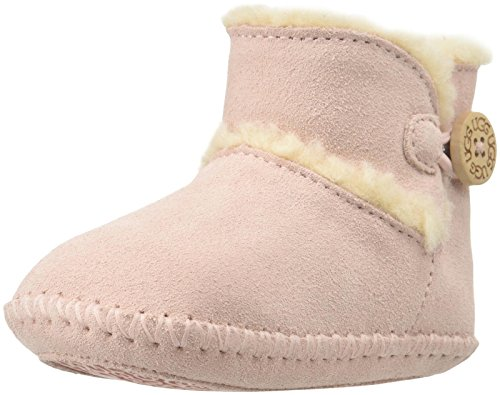 byschuhe - LEMMY 1012146I baby pink, Größe:17-18 (Ugg Booties Baby)