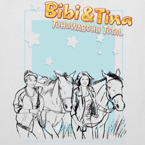 Spreadshirt Bibi Und TinaTohuwabohu Total Sabrina Amadeus Stoffbeutel Weiß