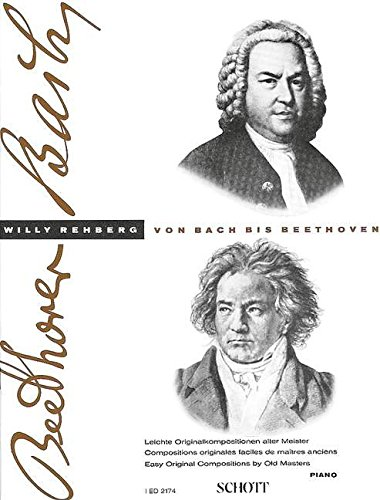 De Bach à Beethoven Volume 1 - Piano