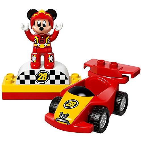 lego 10843 duplo jeu de construction la voiture de course de mickey jouet discount. Black Bedroom Furniture Sets. Home Design Ideas
