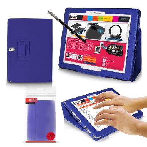 ORZLY® - GALAXY NOTE PRO 12.2 Tablet Stand Case - BLAU Schutzhülle - Ausschließlich konzipiert für Samsung Galaxy NotePro 12,2 Zoll Tablet - 2014 SM-P900 MODELL