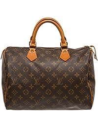 Louis Vuitton - Bolso estilo cartera para mujer marrón marrón