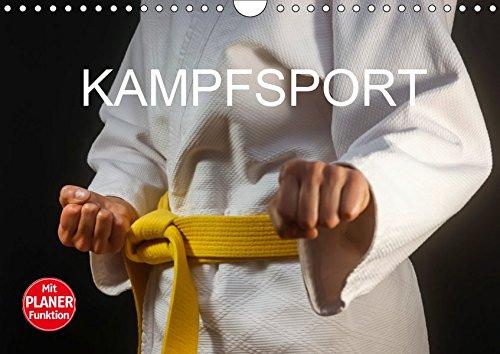 Kampfsport (Wandkalender 2019 DIN A4 quer)