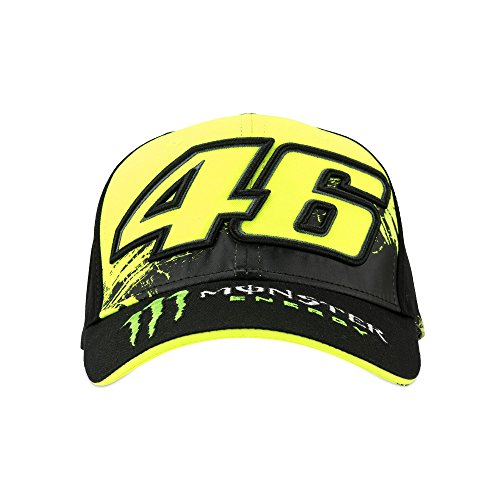 Imagen de vr46   vr unisex monster 46 cap black, uni size alternativa