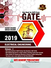 GATE 2019:Electrical Engineering - Solved Papers (32 Years) VOLUME-01