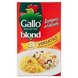 Gallo Riso Versatile, Chicchi per Tutte Le Ricette – 1000 gr