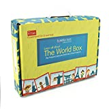 #3: World Box for Kids. Learn Geography with maps, passport, scrapbook. Great for Boys and girls age 5-8 Years , 9 - 11 Years