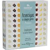 Loukoumiland Loukoumi ai gusti vari - 400 gr - Loukoumi greci ai gusti mastica, arancio, mosto, rosa, limone