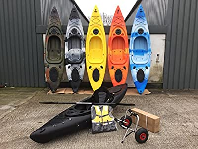 Cambridge Kayaks Single Sit in Kayak, Black from Cambridge kayaks