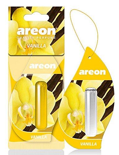Areon liquido deodorante per auto profumo vaniglia dolce profumo ciondolo appeso a lunga durata Home 3D 5ml Confezione da 1