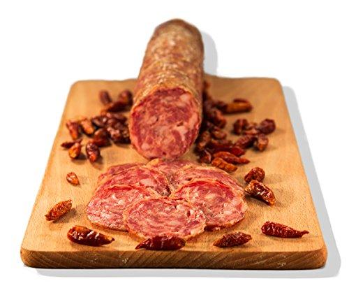 Salame piccante 0,830 kg - salumificio artigianale gombitelli - toscana