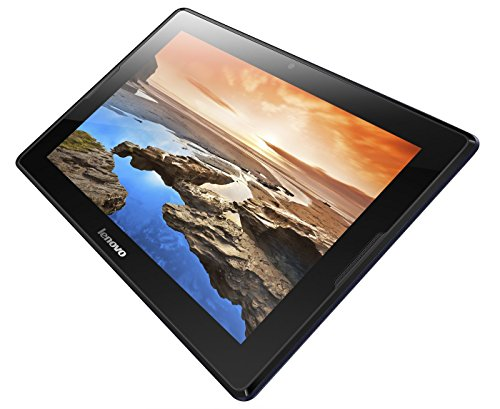 Lenovo A10-70 25,7 cm (10,1 Zoll) HD-IPS Tablet (ARM MTK 8382 QC, 1GB RAM, 16GB eMMC, 3G, Android 4.2) midnight blau
