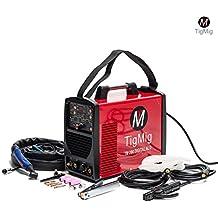Soldador Inverter Tig TM200 Digital Alu, CA-CC, 200A, 60% de ciclo de trabajo para la soldadura de todos los metales, especial para aluminio