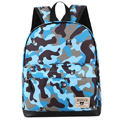 Backpack,Ba Zha  2018 Children Baby Boys Girls Camouflage Pattern Print Backpack Toddler School Bags Satchel Bag Cartoon Bag Clutch Bag Character Designer Bags Coin Purse Shoulder Bags Kids