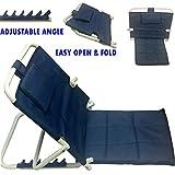 #1: BACK REST premiun super delux folding Hospital Back Rest for use on Bed / Floor Back Rest - Powder Coated