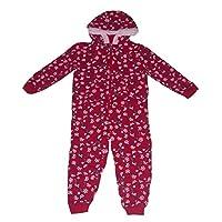 Peppa Pig Girls Pyjamas Onesie Hooded with Zip