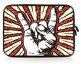 Sidorenko 11,6 Pulgada Funda laptop para MacBook / Chromebook | Funda para computadora de neopreno | Funda con cremallera duradera Protección de 3 capas, resistentes al agua