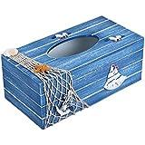 Jungen de madera caja de pañuelos cubiertas para decoración del hogar 24* 12* 9,5cm