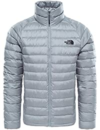 The North Face M Trevail Jacket Chaqueta, Hombre, Gris (Monument Grey), S