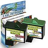 Premium 2er Set Kompatible Druckerpatronen Als Ersatz für Lexmark 17xl + 27xl für Lexmark X2230 X2250 X1180 X1185 X1190 X1250 X1270 X1290 X1196 Z614 Z615 Z617 Z640 Z645 Z717 Z13 Z23 Z517 Z25 Z33 Z34 Z35 Z503 X1130 X1140 X1150 X1155 X1160 X1170 X1100 X1110 17+27-lex