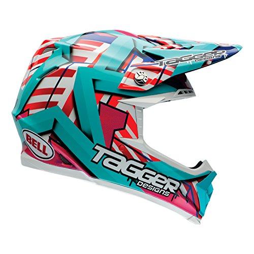 Bell Helmets MX 2015 Moto-9R Intake Casco Adulto, Multicolor, talla XS