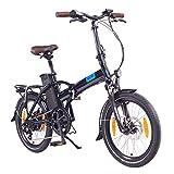 "NCM London ( ) E-Bike, E-Faltrad, 250W, 36V 15Ah/19Ah • 540Wh/684Wh Akku, 20"" Zoll"