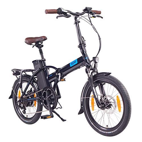 NCM London Bicicleta eléctrica Plegable, 250W, Batería 36V 15Ah 540Wh, 20