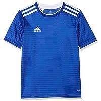 Adidas Condivo 18, T-Shirt Bambino, Bold Blu/Bianco, 11/12