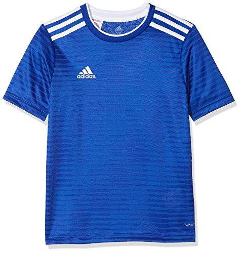 adidas Kinder Condivo 18 Trikot, Bold Blue/White, 128 (Adidas Kinder Trikot)