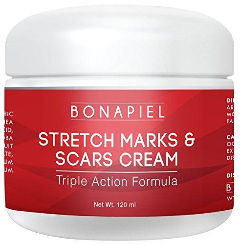 Dehnungsstreifen, Narben Creme - Moisturizing Body Cream Behandlung zu entfernen und verhindern, dass Alte und neue Marken und Narben - Natural & Organic für schwangere Frauen, nach der Geburt, & Männer - 4 oz.