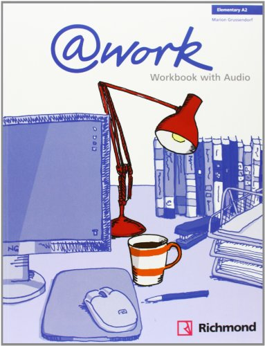 @WORK 1 WORKBOOK+CD ELEMENTARY [A2] - 9788466813587 por Vv.Aa.