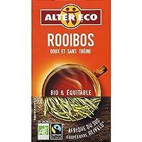 Alter Éco - Thé Rooibos Bio 40G - Lot De 4 - Vendu Par Lot - Livraison Gratuite En France