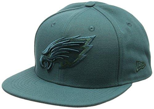 New Era Herren 9FIFTY Snapback Metallic Mark Philadelphia Eagles Otc Cap, Dark Green