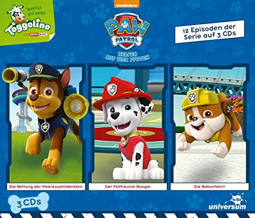 Paw Patrol Hörspielbox 1 (Mp3-audio-buch-player)