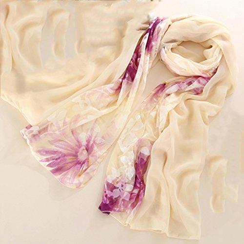 serviette de plage Echarpe sauvage à la chandelle à la soie de Madame et à la soie ( Couleur : #5 ) #10