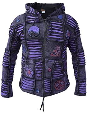 Zhhlinyuan Moda y casual 019 Men's Fashion Long Sleeve Regular Fit Denim Jacket Coat Outerwear