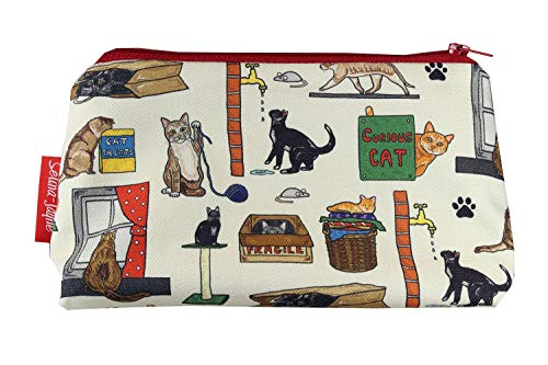 Selina-Jayne Curious Cats Limitierte Auflage Designer Kosmetiktasche -