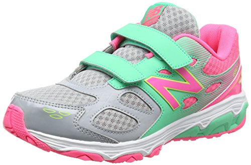 New Balance Kv680kgy M, Sneakers Basses Mixte Enfant Multicolore (Grey/pink)