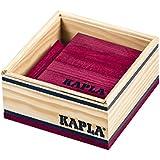 Kapla - Carré de 40 planchettes en bois violet
