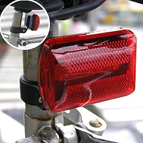 Lampe de vélo, Tianranrt arrière Faisceau de lumière de vélo