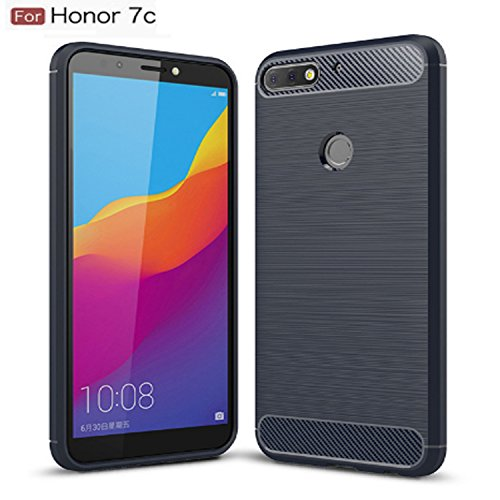 CEDO Rugged Armor TPU Military Grade Shock Proof Back Cover Case for Huawei Honor 7c