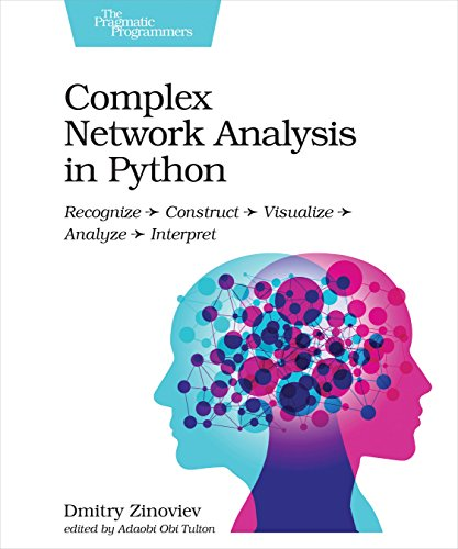 Complex Network Analysis in Python: Recognize - Construct - Visualize - Analyze - Interpret por Dmitry Zinoviev