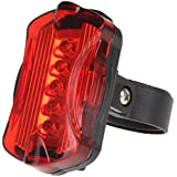 Generic 5 LED Bright Cycling Bike Bicycle Rear Tail Flashing Light Lamp With Clamp
